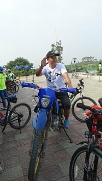 10月19道卡斯湛江市首届越野骑跑公益赛