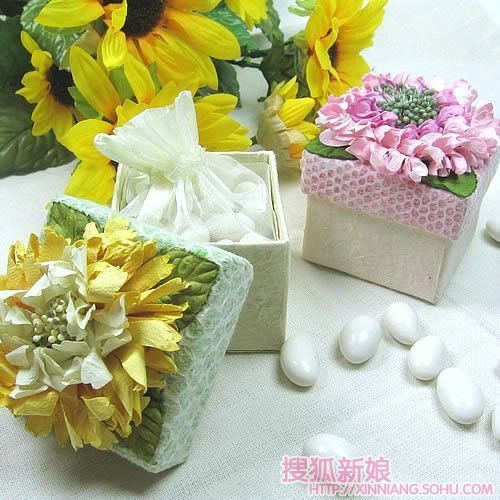 婚礼小礼物 可爱礼品盒