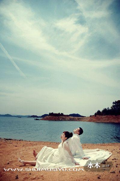 千岛湖婚纱拍摄样品6