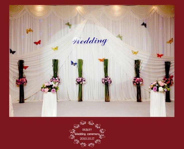 五洲酒店的西式浪漫婚礼!