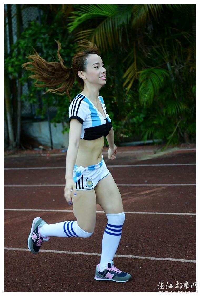 足球美女 摄影部落