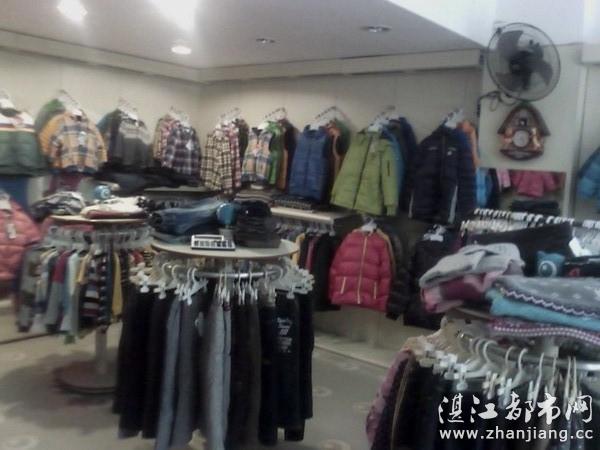 湛江赤坎区太阳花爱儿健儿童服装店销售各种款式漂亮可爱的童装